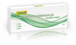 2ml Hyaluron-Gel in glas syringe
